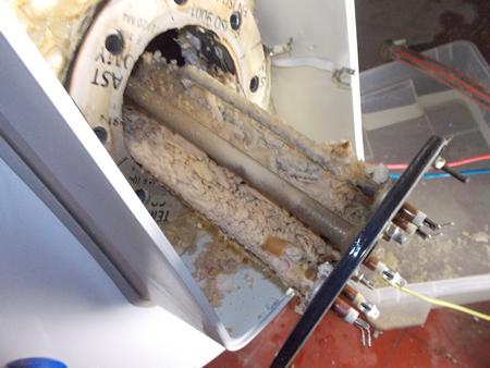 chauffage boiler avant entretien