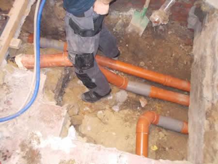 reparation de tuyaux d'égouts bruxelles