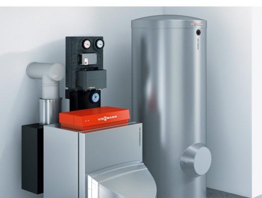 Installation chaudière condensation Viessmann