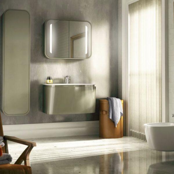 Salle de bain design installation