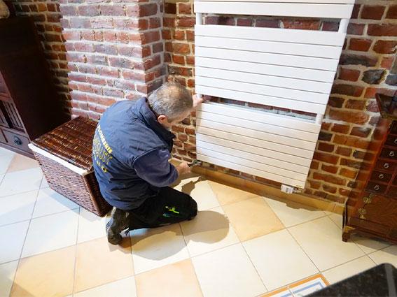 Placement radiateurs et système de chauffage